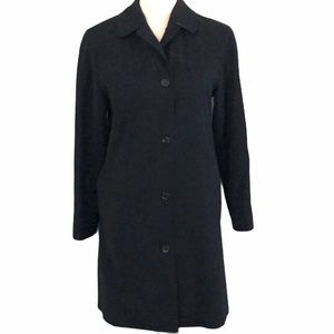 Burberry trench coat—flawed button